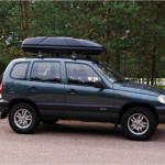Багажник на крышу для Шевроле Нива